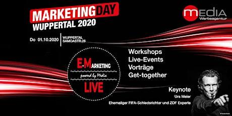 Marketing Day Wuppertal 2020 - WORKSHOPS • LIVE EVENTS • GET-TOGETHER & BBQ tickets