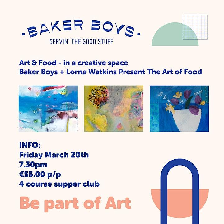 Baker Boys + Lorna Watkins: THE ART OF FOOD image