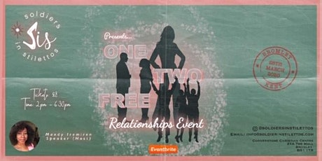 One,Two, Free - Relationships Event for Women tickets