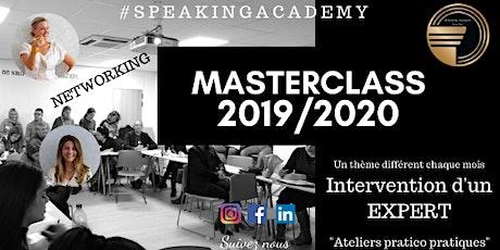 Masterclasses EN LIGNE de la Speaking Academy billets