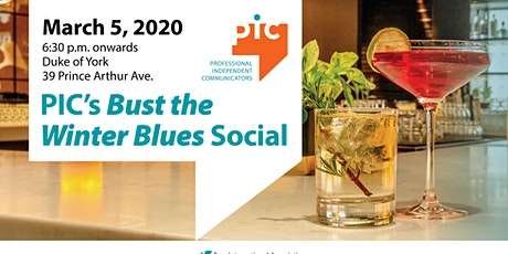 PIC's Bust the Winter Blues Social tickets
