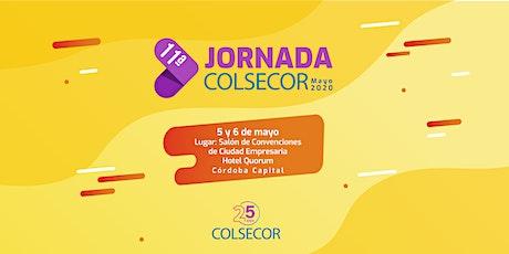 11ª Jornada de COLSECOR   25 años entradas