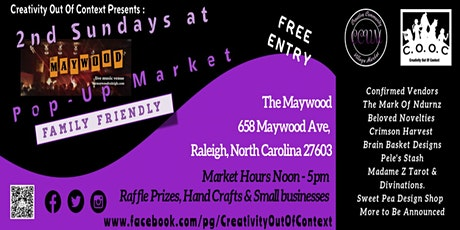 Creativity Out Of Context 2nd Sunday Maywood Popup Market tickets