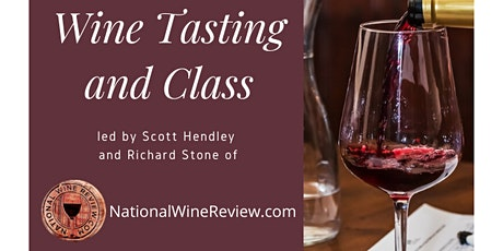 Wine Class with National Wine Review and Alexandria Living tickets