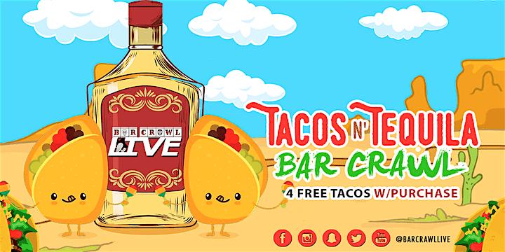 Tacos N' Tequila Crawl | Columbus, OH - Bar Crawl LIVE! image