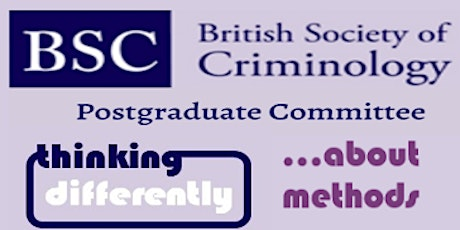 BSC Postgraduate Event: Thinking differently about methods  tickets