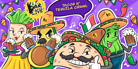 Tacos N' Tequila Crawl | Cincinnati, OH - Bar Crawl Live tickets