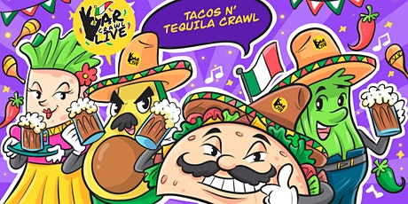 Tacos N' Tequila Crawl | New Haven, CT - Bar Crawl Live ingressos