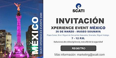 SCATI Xperience Event, México boletos