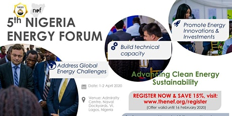 5th Nigeria Energy Forum tickets