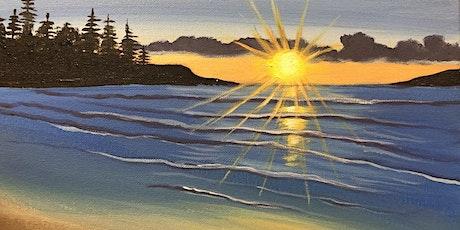 """""""Tofino Beach"""" paint workshop BANFF tickets"""