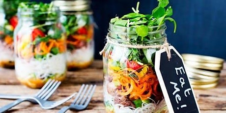 Salad in a jar party tickets