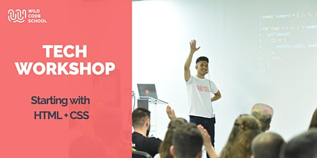 Tech Workshop - Starting with HTML + CSS Tickets