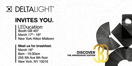 The Lighting Bible Anniversary Edition Breakfast tickets