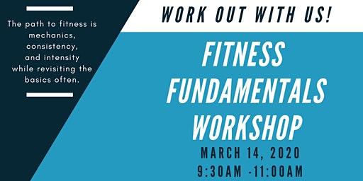 Fitness Fundamentals Workshop