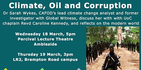 Climate, Oil and Corruption tickets
