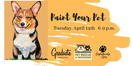 Paint Your Pet at Graduate tickets