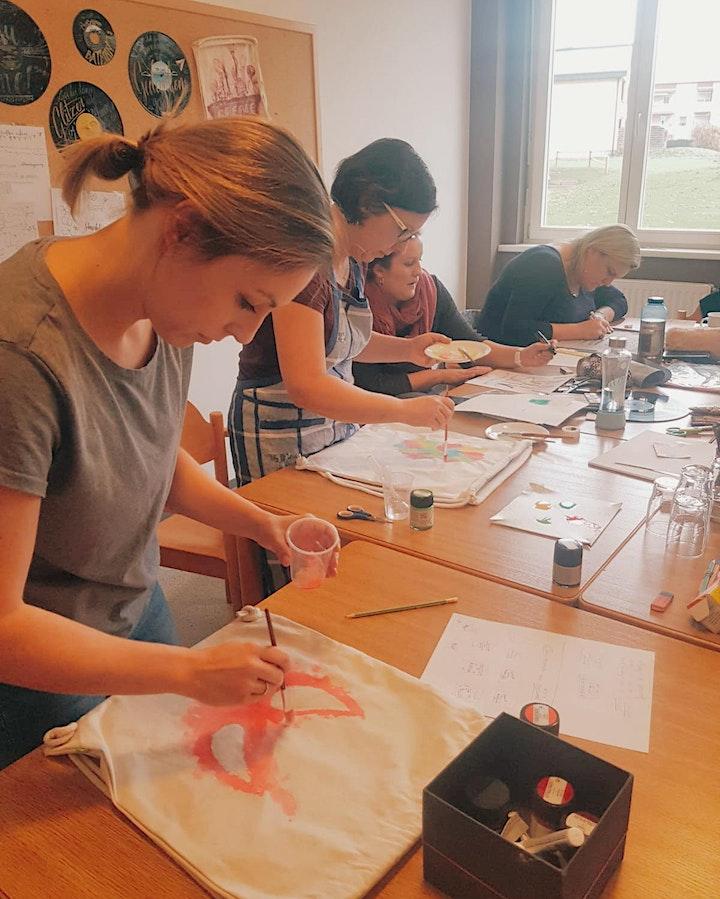 Stoffbeutel Lettering - individuelle Taschen und Bags - Graz: Bild