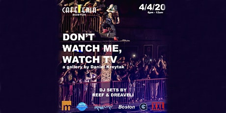 DON'T WATCH ME WATCH TV: a gallery presented by Dan Kreytak @troublshooting tickets