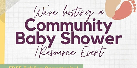 Community Baby Shower/ Resource Event tickets