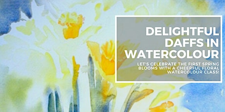 Delightful Daffs in Watercolour with Crystal Beshara tickets