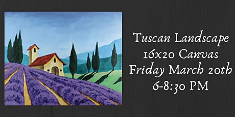 Tuscan Landscape Paint Night tickets