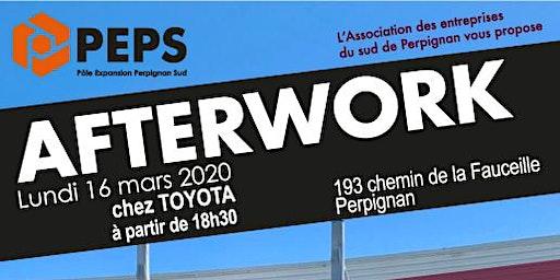 Invitation Afterwork PEPS - 16 mars 2020