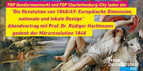 Abendvortrag gedenk der Märzrevolution 1848 Tickets