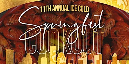 Alpha Eta Lambda's 11th Annual Ice Cold Spring Fest Cookout
