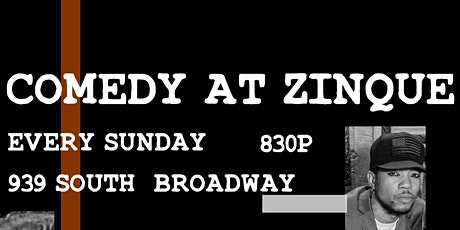 COMEDY AT ZINQUE tickets