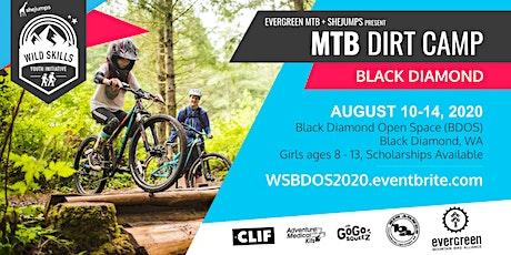 WA Wild Skills MTB Dirt Camp with Evergreen MTB tickets