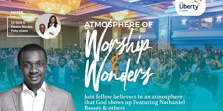 Atmosphere of Worship & Wonders Vol. 9 with NATHANIEL BASSEY tickets