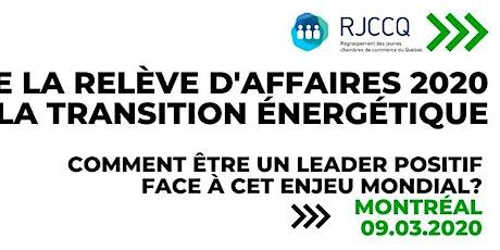 Forum - Transition énergétique tickets