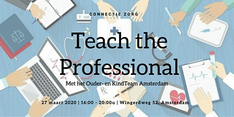 Connectie Zorg: Teach the Professional tickets