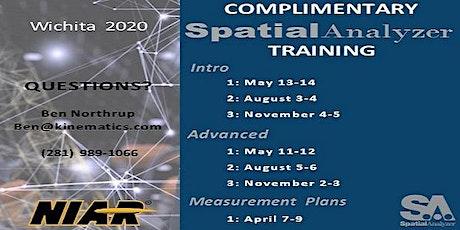 Complimentary  SpatialAnalyzer Trainings | Wichita tickets