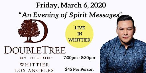 An Evening of Spirit Messages with Psychic Medium A.J. Barrera