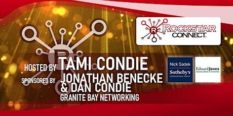 Free Granite Bay Rockstar Connect Networking Event (March, near Sacramento) tickets