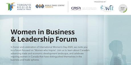 Women Inspire (Celebrating Women in Business & Leadership) tickets