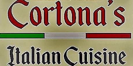 Wine Dinner! at Cortona's Italian Cuisine and Wine Bar biglietti