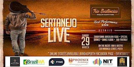 SERTANEJO LIVE - TRIO EVIDENCIAS tickets