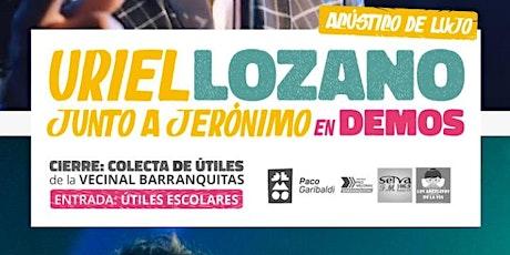 Uriel Lozano junto a Jeronimo en Demos entradas