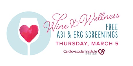 CIS Prairieville Wine & Wellness Screening tickets