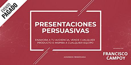 Presentaciones Persuasivas. entradas