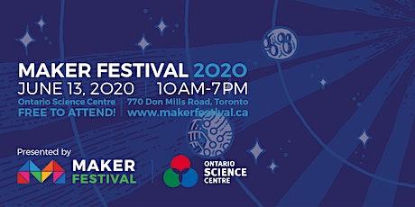 Maker Festival 2020 tickets