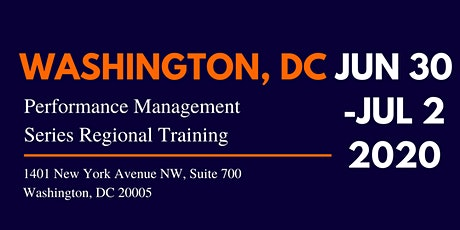 LDR Leadership - DC Regional Performance Management Series tickets