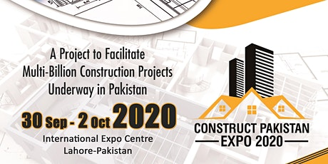 Construct Pakistan Expo tickets