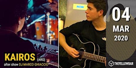 Kairos - The Yellow Bar biglietti