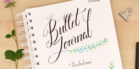 Bullet Journal - Schmuck-Elemente und Lettering Tickets