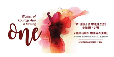 Women of Courage Asia 1st Anniversary Celebration! tickets