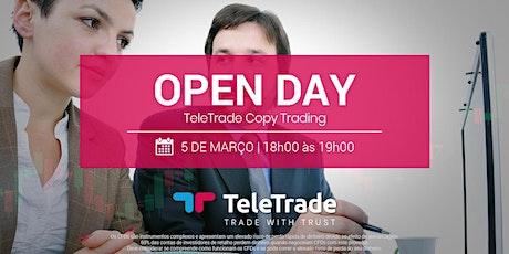 Open Day - Copy Trading bilhetes